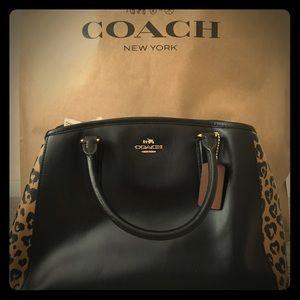 NWT coach wild hearts satchel.
